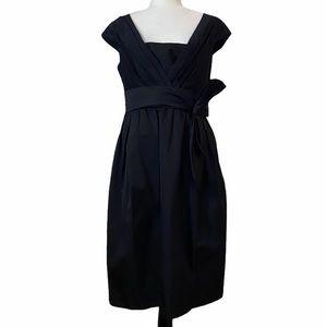 Salvatore Ferragamo Black Silk Blend Dress